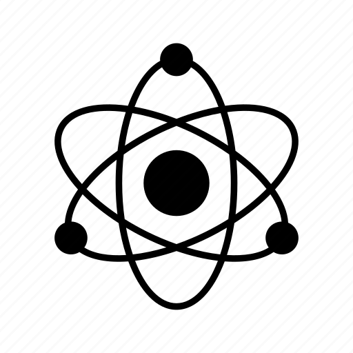 atom, education, modell, physics, school icon