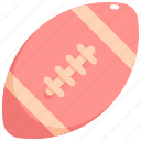 american, ball, football, game, rugby, sport icon