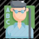 avatar, back to school, education, learning, school, teacher icon