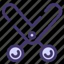 childhood, school, schoolsupply, scissors, study, supply, tool icon