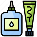 fix, glue, handcraft, material, miscellaneous, office icon