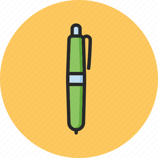 back to school, education, office, pen icon