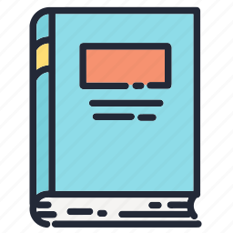 book, books, education, educational, notebook, school, supplies icon
