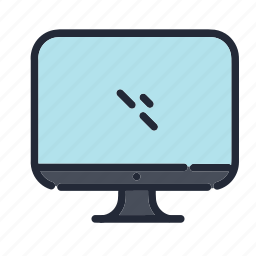 computer, dsektop, education, educational, school, screen, technology icon