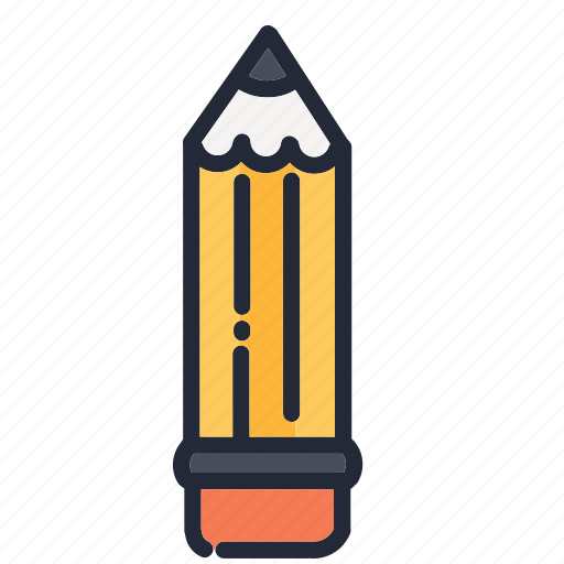 drawing, education, educational, pen, pencil, school, supplies icon