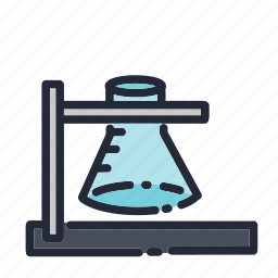 education, educational, school, science, supplies, test, tube icon