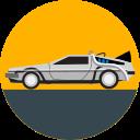 back to the future, car, delorean, future, transport, transportation, vehicle