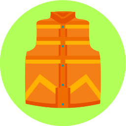 back to the future, clothes, vest icon
