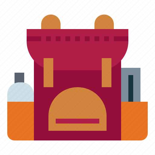 Backpack, baggage, luggage, travel icon - Download on Iconfinder