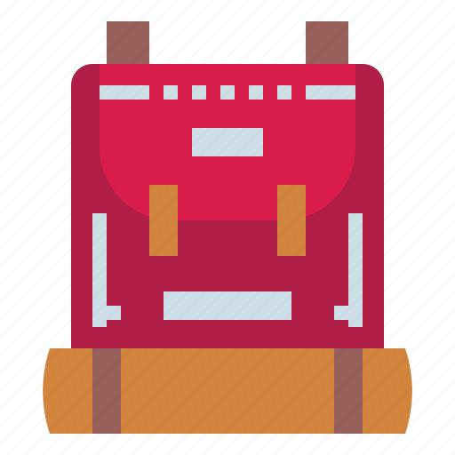 backpack, baggage, luggage, travel icon