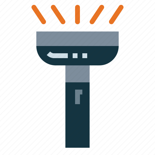 Flashlight, tools, torch, utensils icon - Download on Iconfinder