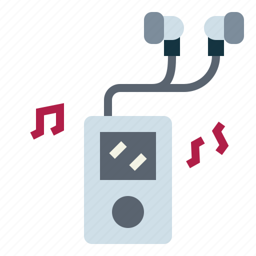 hobby, ipod, mp3, music icon