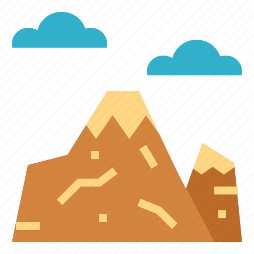 Landscape, mountain, nature, sun icon - Download on Iconfinder