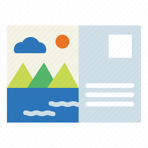 Letter, mail, postcard, stamp icon - Download on Iconfinder