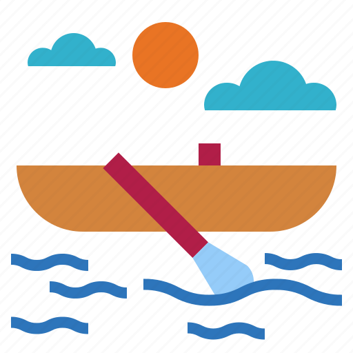 boat, navigate, sailing, transportation icon
