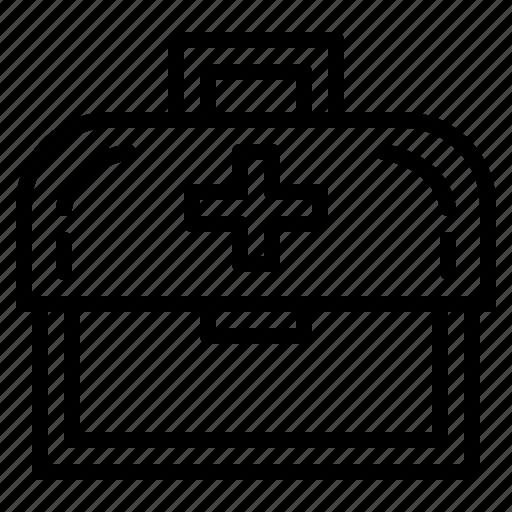 Aid, box, emergencies, hospital, medical icon - Download on Iconfinder