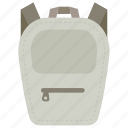 backpack, hiking, rucksack, school backpack, travelling bag icon