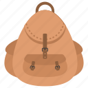 backpack, backsack, hiking, tourist bag, travelling bag icon