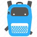 backpack, backsack, hiking, tourist bag, travelling bag icon
