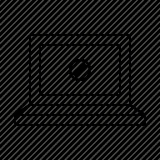 computer, error, hardware, notebook, screen icon