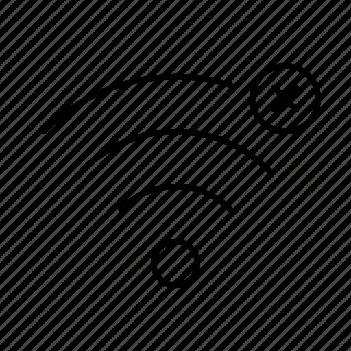 airport, connect, error, internet, web, wifi icon