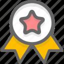 badge, commend, praise, vip icon
