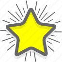 badge, favorites, like, pick, star icon