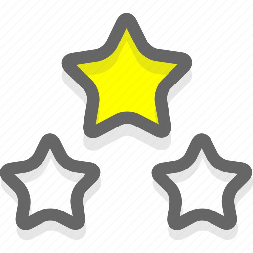 rate, rating, stars icon