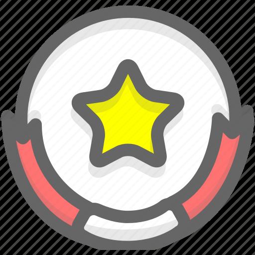 achievement, medal, success icon