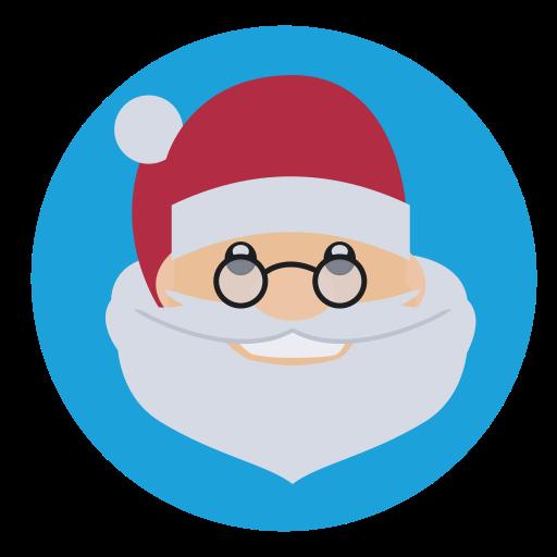 christmas, father christmas, saint nick, santa icon