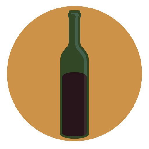 alcohol, bottle, christmas, drink, mulled, wine icon