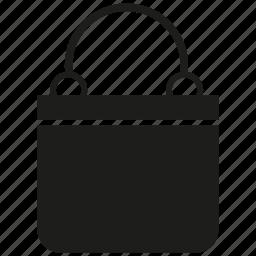 bag, briefcase, handbag, shopping bag, valise icon