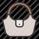 bag, fashion, female, handbag icon