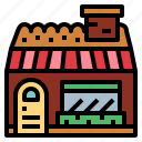 bakery, food, shop, store icon
