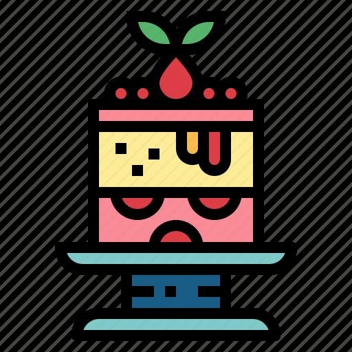 baker, cake, cheesecake, dessert icon