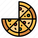 cheese, fast, food, italian, pizza icon