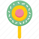 bakery, candy, food, lollipop, sweet icon