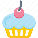 bakery, cake, cupcake, dessert, food, sweets icon