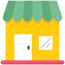 bakery, food market, kiosk, market, shop, store icon