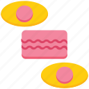bakery, bakery biscuits, biscuits, cookies, dessert, snack, sweets icon