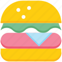 bakery, burger, eating, fast food, food, hamburger, snack