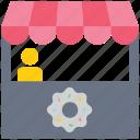 bakery, food market, kiosk, market, shop, store