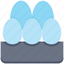 bakery, breakfast, eggs, food, gastronomy, spring icon