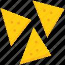 baked, bakery, chicken samosa, food, fried, samosa, snacks icon