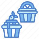 cupcake, dessert, muffin, sugar icon