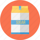 bag, sugar, sugar bag, bag of sugar, of