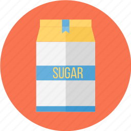 bag, bag of sugar, of, sugar, sugar bag icon