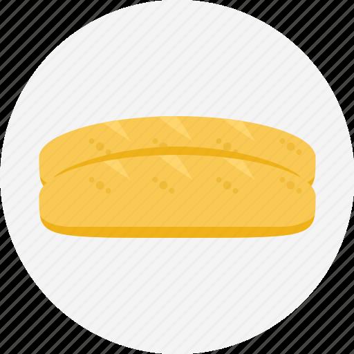 baguette, bread, bun, french, loaf of bread, white bread icon