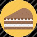 cake, chocolate, chocolate pie, layered, pie