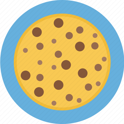chip, chocolate, chocolate chip cookie, chocolate cookie, cookie icon